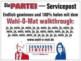 Die PARTEI - Servicepost