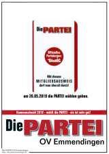 PARTEI wählen am 26,05.2019, Kommunal abrocken
